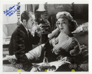 Photo Signed by Marie Windsor