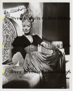 Photo Signed by Marlene Dietrich