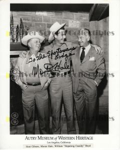 Photo Signed By Monte Hale