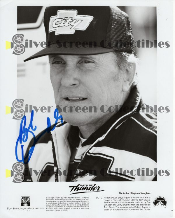 Photo Signed by Robert Duvall