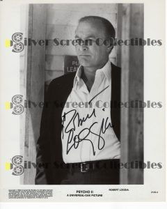Photo Signed by Robert Loggia