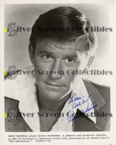Photo Signed by Roddy McDowell