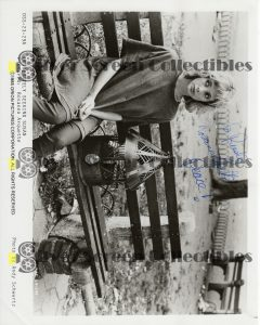 Photo Signed by Rosanna Arquette