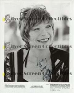 Photo Signed by Shirley MacLaine
