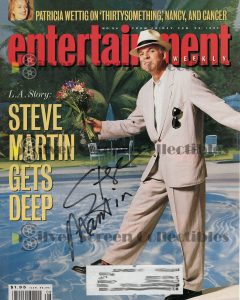 Magazine Page Signed By Steve Martin
