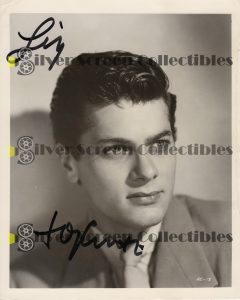 Photo Signed by Tony Curtis