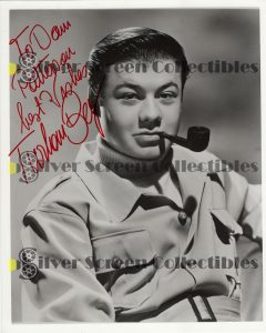 Photo Signed by Turhan Bey