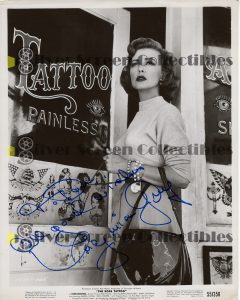 Photo Signed by Virginia Grey