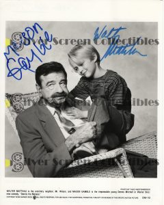 Photo Signed by Dennis the Menace (1993)