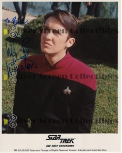 Photo Signed by Wil Wheaton