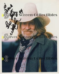 Photo Signed by Willie Nelson