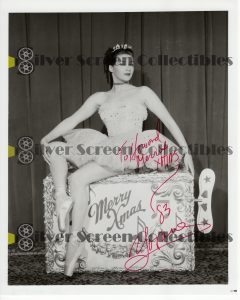 Photo Signed by Yvonne De Carlo