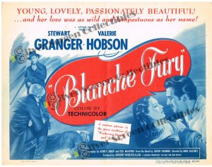 Lobby Card SET from Blanche Fury