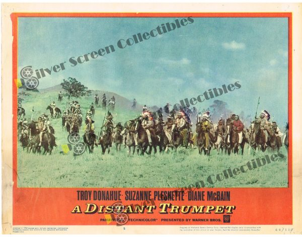 Lobby Card SET from Distant trumpet