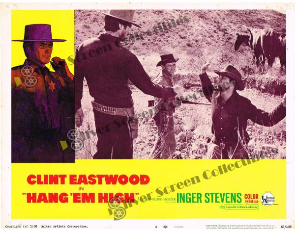 Lobby Card SET from Hang 'em High