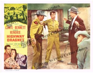 Lobby Card SET from Highway Dragnet