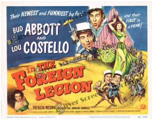 Lobby Card from Abbott and Costello in The Foreign Legion