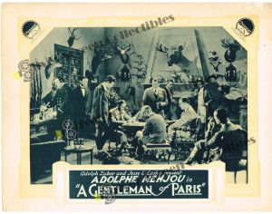 Lobby Card from A Gentleman of Paris