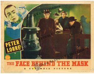 Lobby Card from Face Behind the Mask