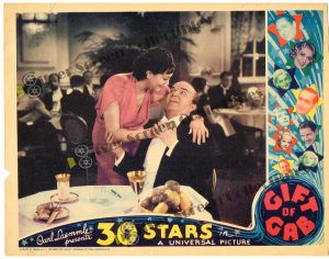 Lobby Card from Gift of Gab
