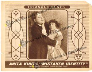 Lobby Card from Mistaken Identity
