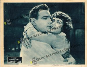 Lobby Card from Western Luck