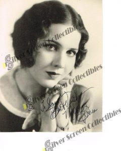 Photo Signed by Mary Brian
