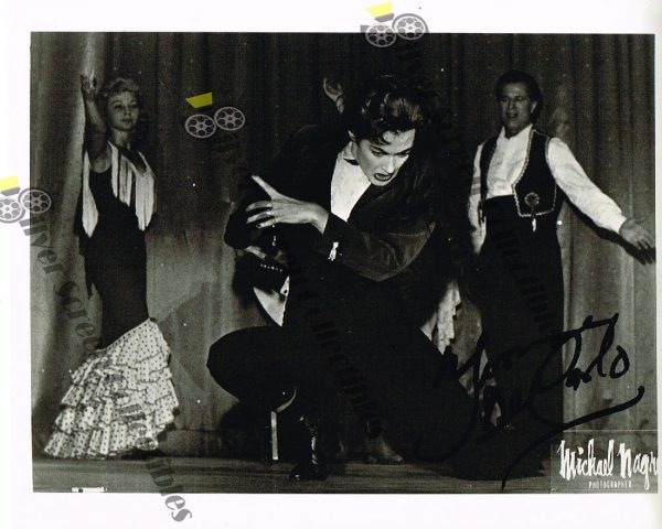 Photo Signed by Yvonne DeCarlo