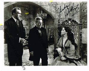 "8"" x 10"" Photo Signed by Debra Paget"