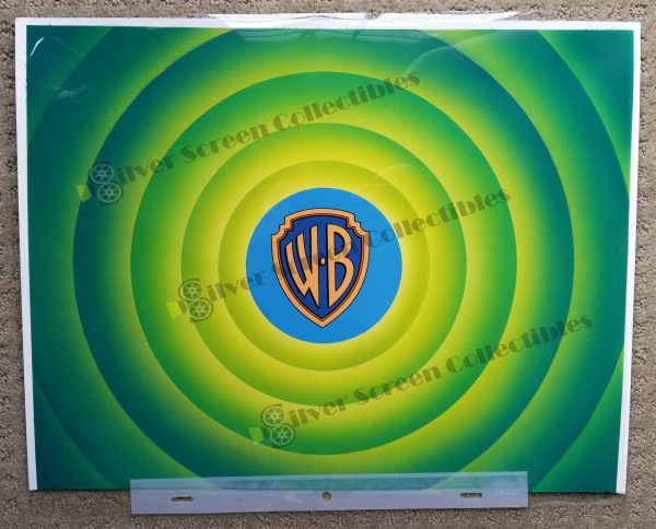 Warner Brothers Cartoon End Credit Animation Cell
