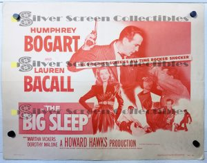 Half Sheet Movie Poster from The Big Sleep