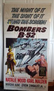 Three Sheet Movie Poster from Bombers B52