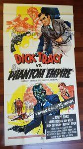 Three Sheet Movie Poster from Dick Tracy Vs. Phantom Empire