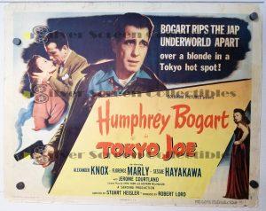 Half Sheet Movie Poster from Tokyo Joe