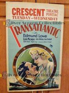 Window Card from Transatlantic