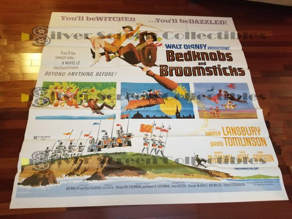 Six Sheet Movie Poster from Bedknobs and Broomsticks