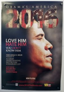 "(27"" x 40"")  Original U.S. One Sheet Movie Poster by 2016: Obama's America"