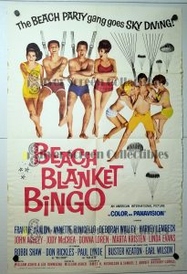"(27"" x 41"")  Original U.S. One Sheet Movie Poster by Beach Blanket Bingo"