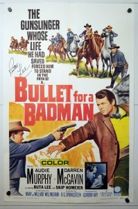 """(27"""" x 41"""")  Original U.S. One Sheet Movie Poster by Bullet for a Badman"""