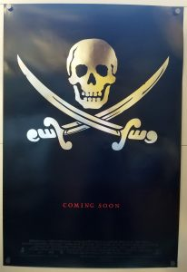 "(27"" x 40"")  Original U.S. One Sheet Movie Poster by Cutthroat Island"