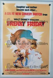"(27"" x 41"")  Original U.S. One Sheet Movie Poster by Freaky Friday"