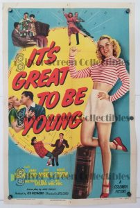 """(27"""" x 41"""")  Original U.S. One Sheet Movie Poster by It's Great to Be Young"""