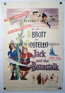 """(27"""" x 41"""")  Original U.S. One Sheet Movie Poster from Jack and the Beanstalk"""