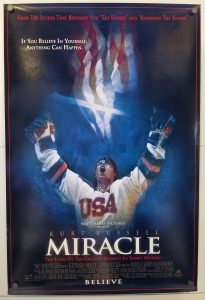 "(27"" x 40"")  Original U.S. One Sheet Movie Poster from Miracle"