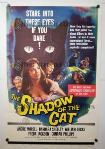 "(27"" x 41"")  Original U.S. One Sheet Movie Poster from Shadow of the Cat"