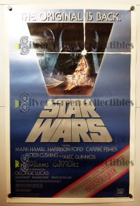 "(27"" x 41"")  Original U.S. One Sheet Movie Poster from Star Wars"