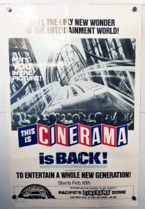"(27"" x 41"")  Original U.S. One Sheet Movie Poster from This is Cinerama"
