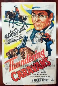 "(27"" x 41"")  Original U.S. One Sheet Movie Poster from Thundering Caravans"