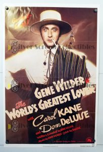 """(27"""" x 41"""")  Original U.S. One Sheet Movie Poster from World's greatest lover"""