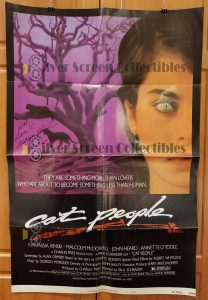"(27"" x 41"")  Original U.S. One Sheet Movie Poster by Cat People"